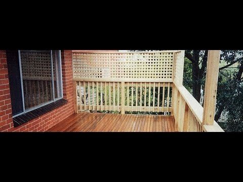 Quality Timber Lattice in Melbourne