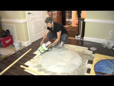 Episode 8 of 9:  Installing a Floor Mosaic