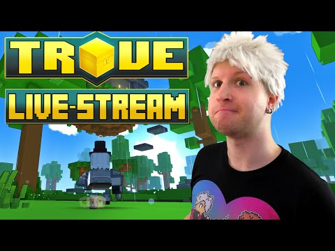 Scythe Plays Trove LIVE STREAM ✪ BONE DRAGON GET!