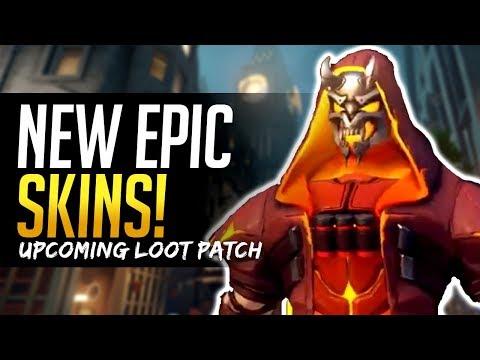 Overwatch NEW EPIC SKINS! DIABLO REAPER & ILLIDAN ZENYATTA