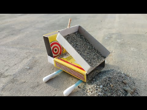 How to make a dump truck with matchbox
