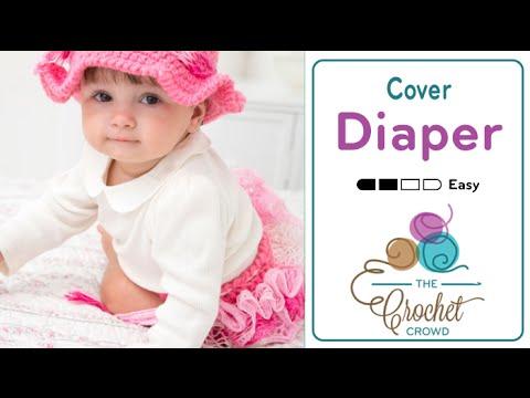 How To Crochet Diaper Cover: Sashay Ruffles