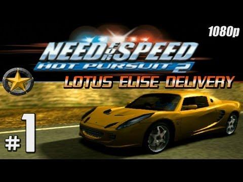 NFS Hot Pursuit 2 [1080p][PS2] - Part #1 - Lotus Elise Delivery