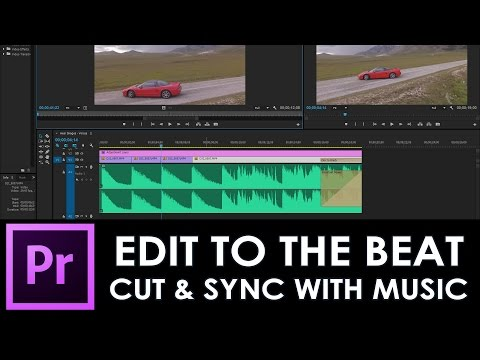Edit to the beat fastest method / Cut and sync clips with music / Adobe Premiere tutorial