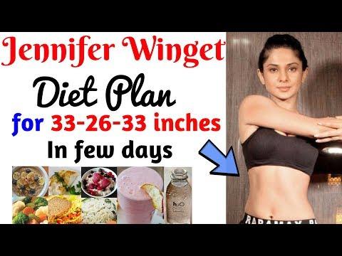 मोटापा घटाये तेजी से| Jennifer Winget Diet Plan For Weight Loss for Women | Lose Weight Fast