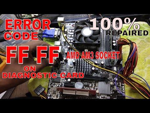 computer repairs #pc repair #no power motherboard repaired #amd am3 cpu