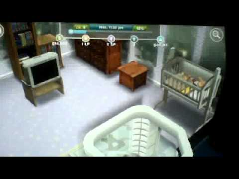 How to change a sim baby's diaper! Day 1