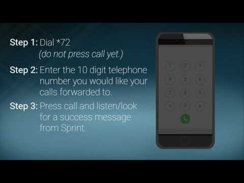 How To Set Up Call Forwarding - Sprint