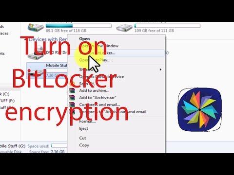 Password protect USB and hard drives using Bitlocker on windows