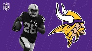 Latavius Murray Welcome to the Minnesota Vikings! | NFL | Free Agent Highlights