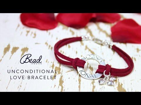 Unconditional Love Bracelet - DIY Quick Make - Bead House