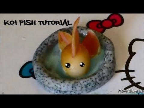 Polymer clay Koi Fish tutorial