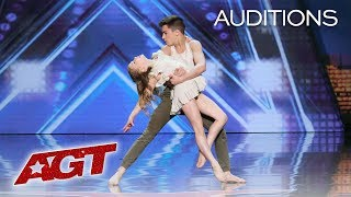 Download Kid Dancers Izzy and Easton Dazzle With Contemporary Dance - America's Got Talent 2019 Video