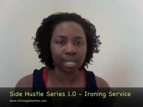 Side Hustle Series 1.0 - Ironing Service