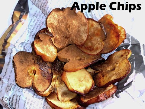 Apple Chips- fat free and low calorie