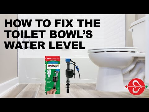 Not Enough Water in Toilet Bowl: Fix it with Fluidmaster PerforMAX® Fill Valve