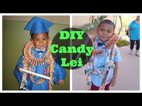 DIY Candy Lei - (IJKfamTV)