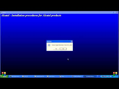 Alcatel Lucent  1660 &1662 ADMs Software Installation Videos (Tariq Javed)