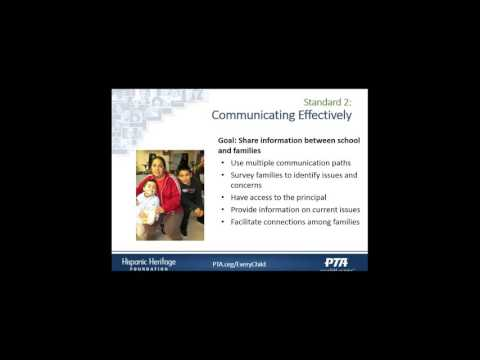 Engaging Hispanic Families in Schools, PTA and Community to Support Student Success