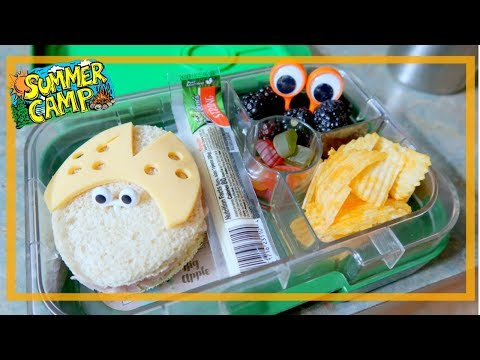 Summer Camp Lunch Ideas | BENTGO STYLE LUNCH  | Week #1