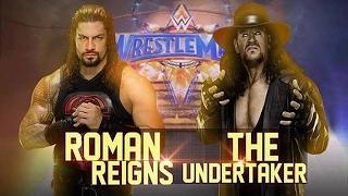roman reigns vs undertaker | WWE Wrestlemania 33 | WWE 2K17 (Full Match)