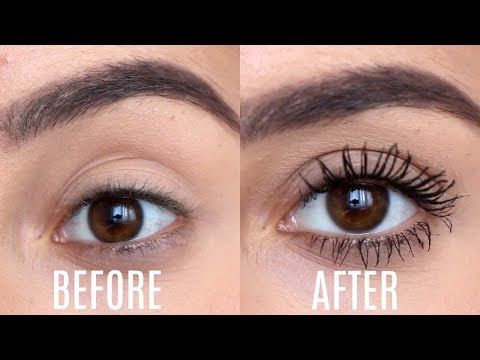 SUPER LONG Lashes in 5 Minutes! (NO FALSIES) Pamela Reif Inspired