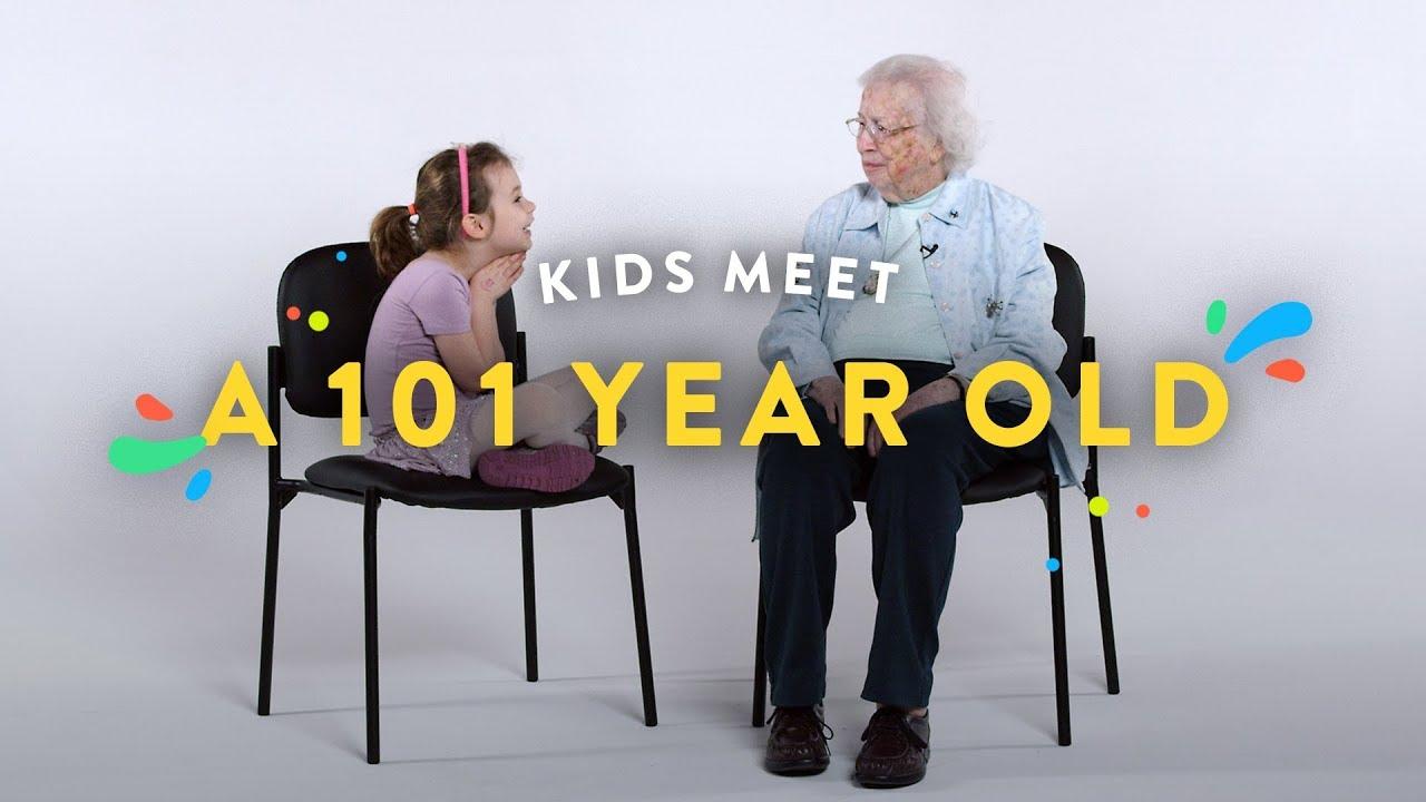 Kids Meet a 101 Year Old   Kids Meet   HiHo Kids
