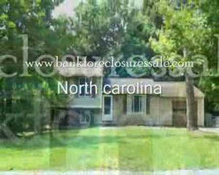 North Carolina Bank Foreclosures - NC