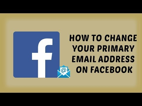 How To Change Your Primary Email Address On Facebook | Facebook Tutorials In Hindi