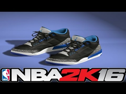 How to create shoes on nba 2k16 Xbox 360