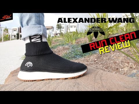Adidas x Alexander Wang Run Clean ON FOOT Review!