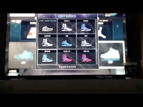 NBA 2K15 Equip shoe fix Signature Shoes Only.