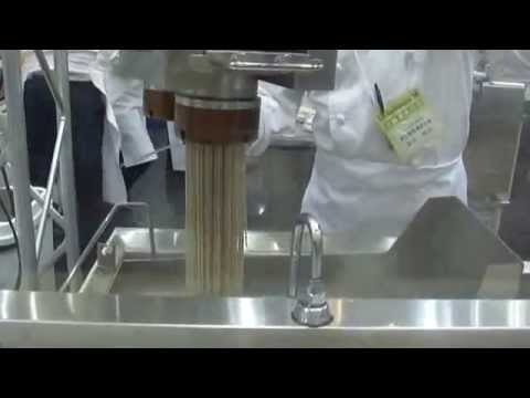 soba noodle machine in japan