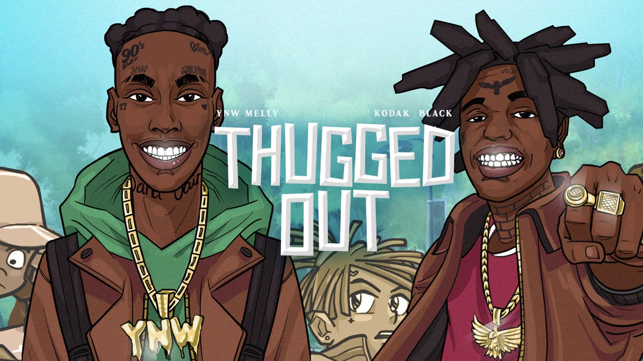 YNW Melly - Thugged Out (feat. Kodak Black) [Official Audio]