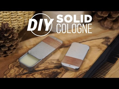 DIY Solid Wax Cologne- HGTV Handmade
