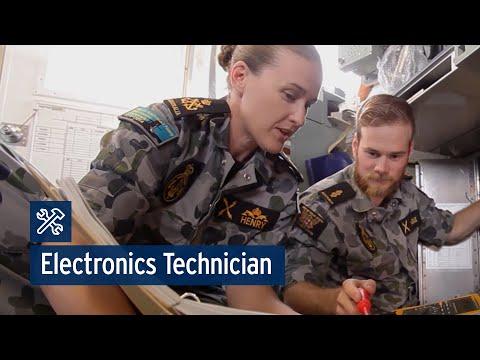 Navy Trade Technicians: Electronics Technician