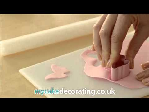 Cake Decorating: How to make butterfly toppers