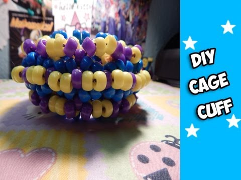 How to  Make a Cage Cuff (Part 1) - [Kandi Tutorial]