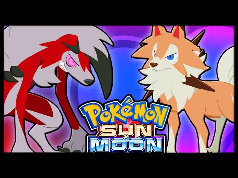 NEW DAY AND NIGHT FORMS! ROCKRUFF EVOLUTION [Pokémon Sun and Moon]