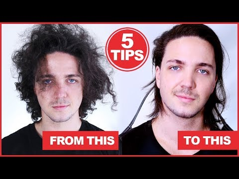 5 Tips For Controlling Frizzy Hair  - Men's Hair
