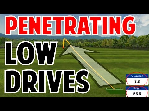 How to Hit Low Penetrating Drives
