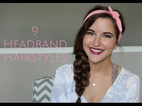 9 Headband Hairstyles!