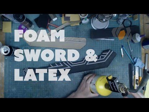 Prop: Live from the Shop - Dwarven Sword Foam Details & Latex