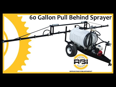 Pull Type Lawn and Garden Sprayer