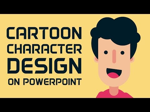 How to Design Cartoon Character in PowerPoint