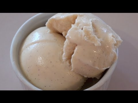 EGG NOG ICE CREAM - VIDEO RECIPE