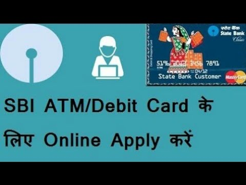 How To Apply for SBI debit Card Online