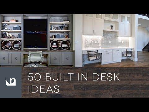 50 Built In Desk Ideas
