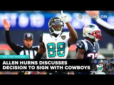 Allen Hurns discusses decision to sign with Cowboys