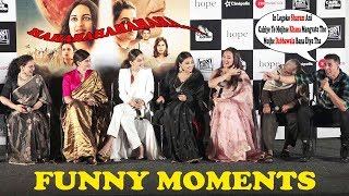 Akshay Kumar's FUNNY Moments With Media & Cast At Mission Mangal Trailer Launch